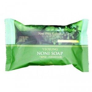 280125 JUNO Yeojung Noni Косметическое мыло для лица и тела с фруктовым экстрактом Нони (для всех типов кожи) 120г