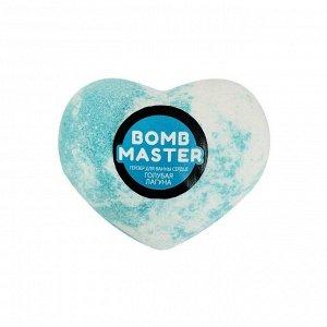 "Бомбочка для ванн ""Сердце. Голубая лагуна"" Bomb Master"