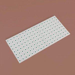 Ипликатор - коврик на мягкой подложке, 26 ? 56 см, 144 модуля, цвет МИКС