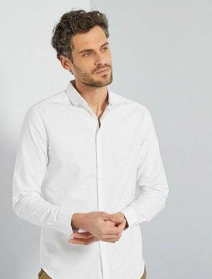 Рубашка Eco-conception из оксфорда