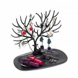 Органайзер для украшений «Олень» Черный