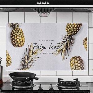 """Наклейка жироотталкивающая для кухни """"Palm Leaf"""" Ананас  75*45 см (1716)"""