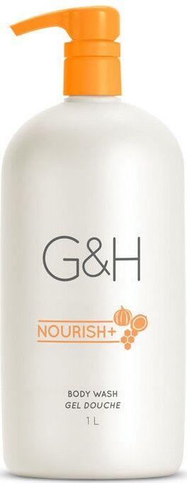 G&H NOURISH+™ Гель для душа, 1 л