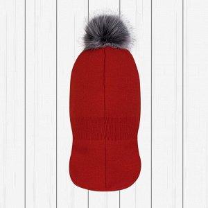 Шлем зимний арт.Ш-086-красный