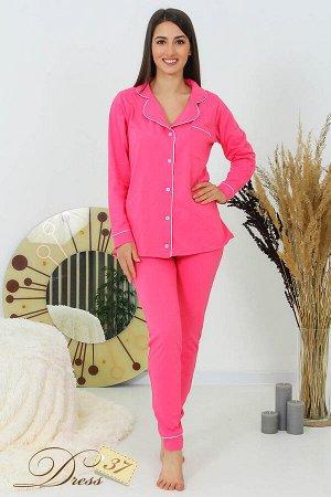 Костюм «Теплый сезон» брюки розовый