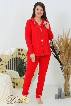 Костюм «Теплый сезон» брюки красный