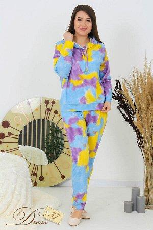 Костюм «Кедр» брюки фиолетовый