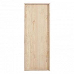 """Дверной блок для бани, 180?70см, из сосны, на клиньях, массив, """"Добропаровъ"""""""