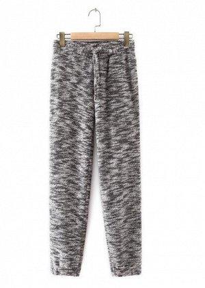 Женские спортивные брюки, цвет серый