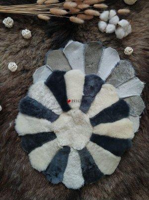 Накидки из овчины «Ромашка».