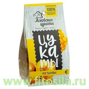 Цукаты из ТЫКВЫ (тыква, сахар), 80г, Псковские цукаты