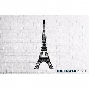 Деревянный интерьерный пазл «Эйфелева башня»
