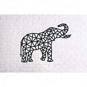 Деревянный интерьерный пазл «Design Слон»