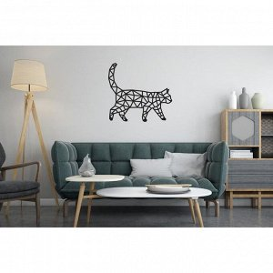 Деревянный интерьерный пазл EWA Design «Кошка»