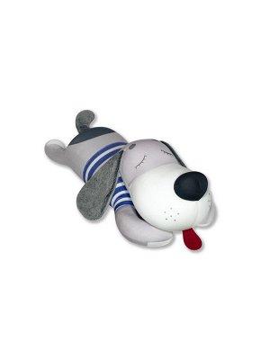 """Антистрессовая игрушка """"Пес тельняшка"""", серый"""