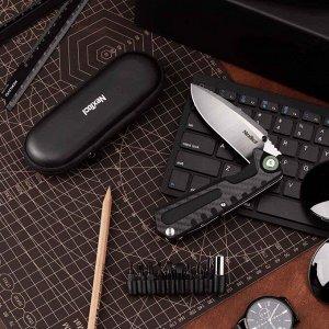 Складной нож-мультитул в твердом чехле