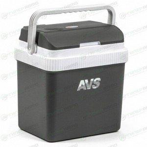 Автохолодильник AVS CC-24NB, объем 24л, размер 400x300x430мм, 12/220В