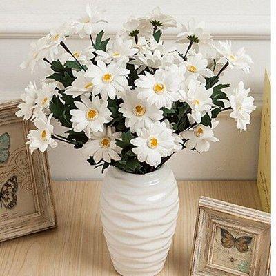 🌹Искусственные цветы для декора!🌸Родительский день🥀 — Ромашки 19 рублей! — Искусственные растения