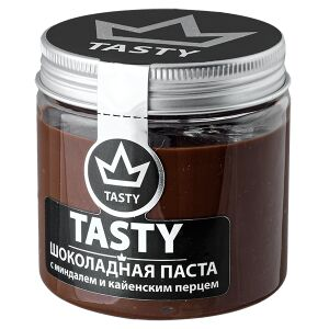 Шоколадная паста Tasty с миндалем и кайенским перцем 200 г
