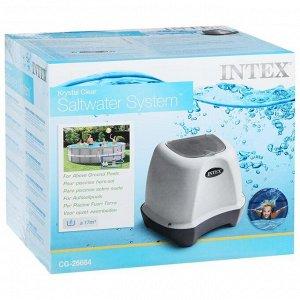 Хлоргенератор (система морской воды) Krystal Clear для бассейна до 17413 л, с таймером, 26664 INTEX