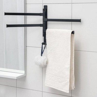 Красивая и удобная ванная: Мебель, смесители, аксессуары — Держатели для полотенец