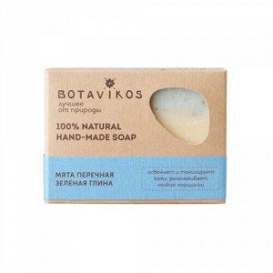 "Мыло ""Мята перечная, зеленая глина"" Botavikos"