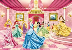 Фотообои Принцессы Бальная комната