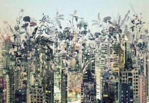 Фотообои Урбанистический пейзаж