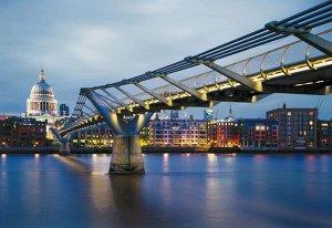 Фотообои Мост Миллениум в Лондоне