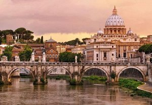 Фотообои Город Рим
