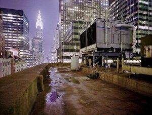 Фотообои Город. На крыше