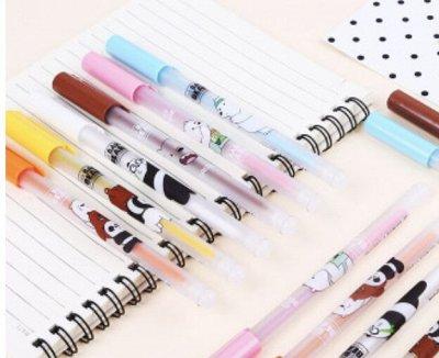 Опять школа-Наличие! Ручки Пиши-стирай, Закладки и другое — Ручки гелевые Пиши-стирай + Ластики к ручки