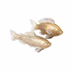 Декор 1010864-S Рыбка Fiete L15-18cm полирезин