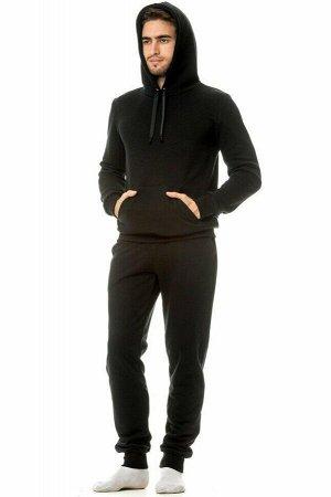 Костюм мужской теплый (3-х нитка петля). Цвет черный