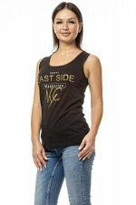 """Топ """"East side"""". Цвет черный"""