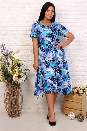 Платье 27540 (цвет - фиолетовый)