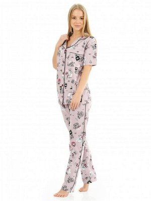 Пижама женская Парфюм(брюки)