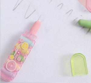 Резинка стирательная /ластик со сменными насадками