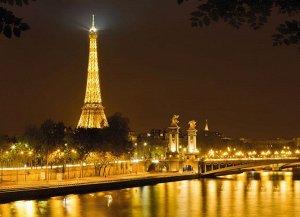Фотообои Париж Эйфилева башня