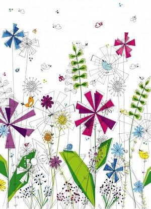Фотообои Броские цветы