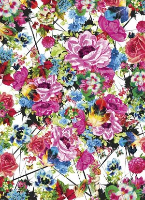 Фотообои Цветы в ярких тонах