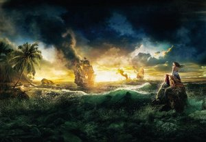 Фотообои Пираты Карибского моря