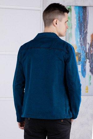 Пиджак джинсовый              17.5018-LACIVERT