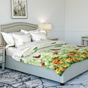 Бязь плотность 125 гр. 2 спальный с европростыней