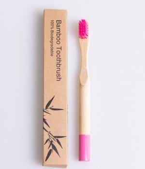 Детская зубная щетка из бамбука BAMBOO (1 шт.)