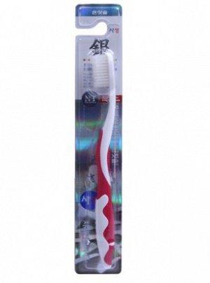 Зубная щетка с ионами серебра