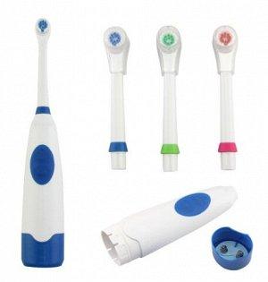 Электрическая зубная щетка со сменной насадкой