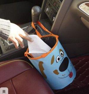 Корзина автомобильная для мусора Собачка