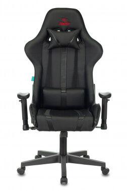 Кресло игровое Бюрократ VIKING ZOMBIE A4 черный искусственная кожа с подголов. крестовина пластик