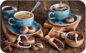 Салфетка сервировочная  ПВХ  Кофе 06  26*41см